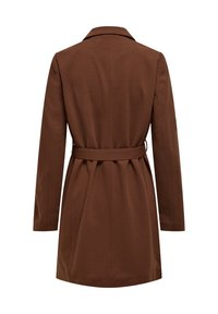 ONLY - MANTEL GESTREIFTER, DRAPIERTER - Trench - toffee - 5