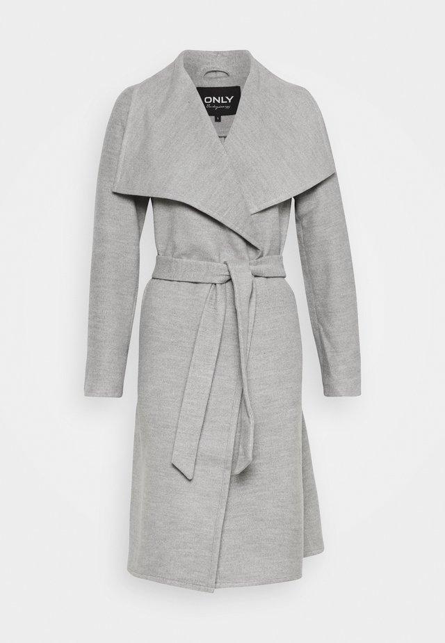ONLNEWPHOEBE DRAPY COAT - Manteau classique - light grey melange