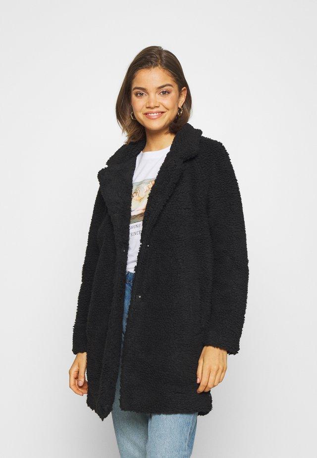 ONLAURELIA COAT - Cappotto corto - black