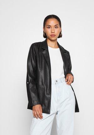 ONLVIBE  - Faux leather jacket - black