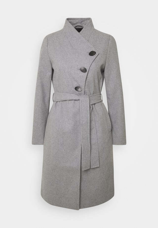 ONLLIVA COAT - Abrigo - light grey melange