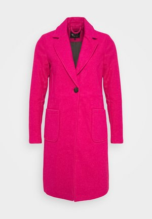 ASTRID WOOL  - Classic coat - beetroot purple
