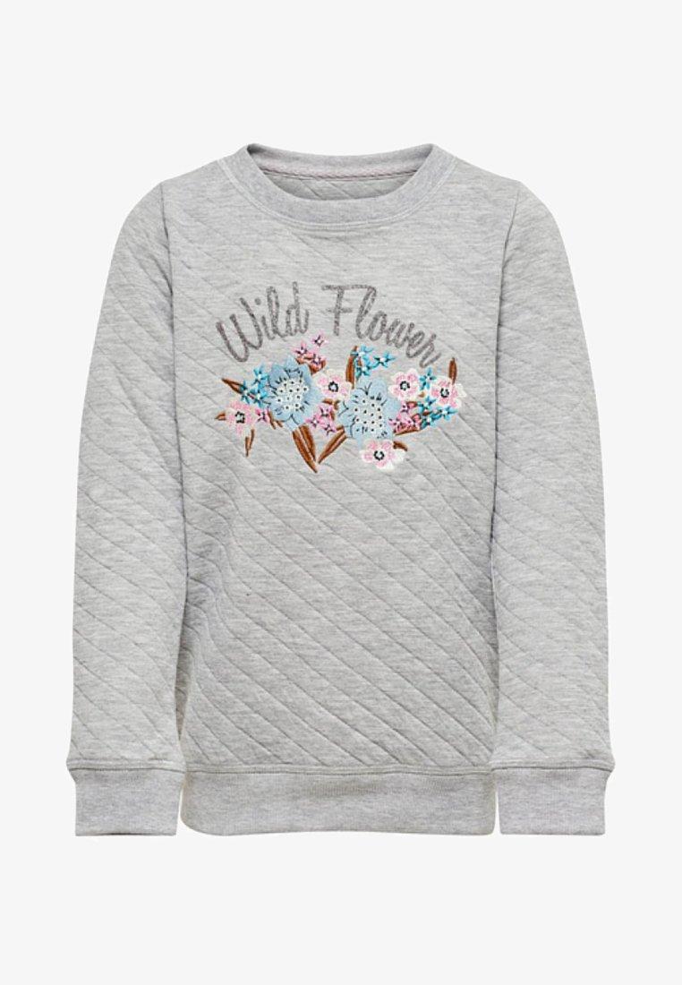Kids ONLY - Sweatshirt - light grey melange