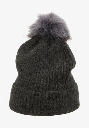 Mütze - dark grey melange