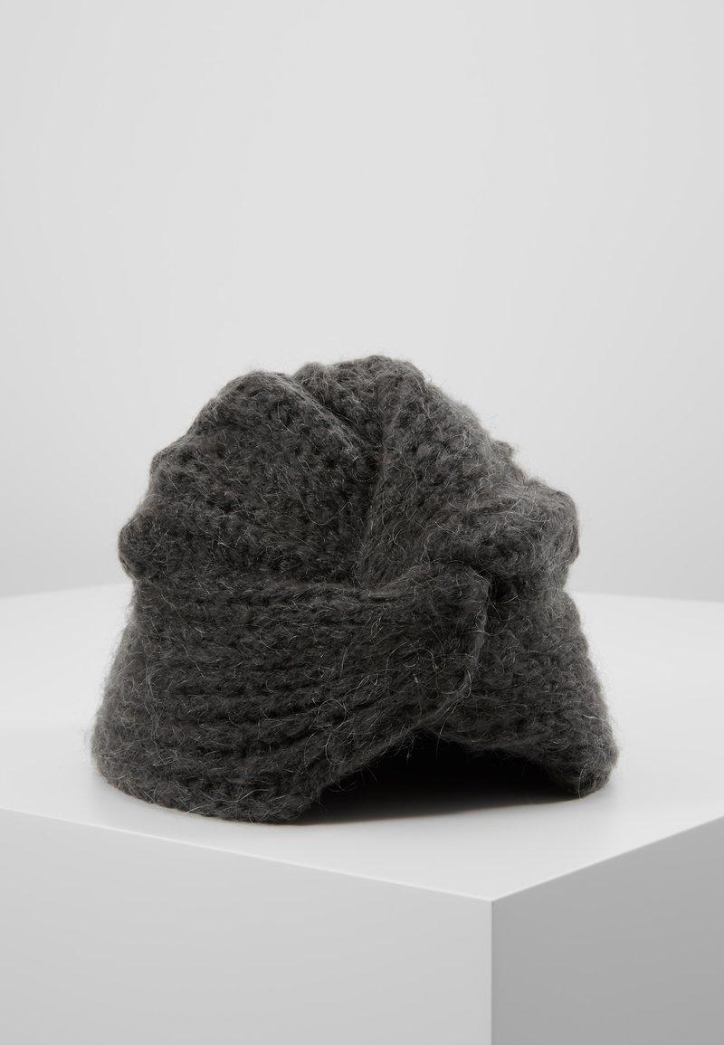 ONLY - ONLLIVA TURBAN - Beanie - dark grey melange