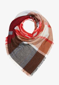 ONLY - ONLNORMA CHECK SCARF - Bufanda - kentucky blue/high risk red/black - 1
