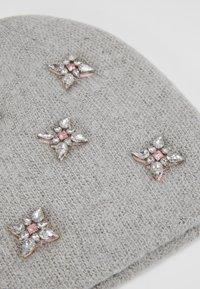 ONLY - Hat - light grey melange - 4