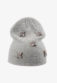 ONLY - Hat - light grey melange - 3