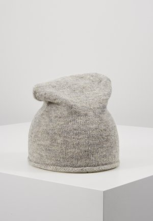 Hat - light grey melange