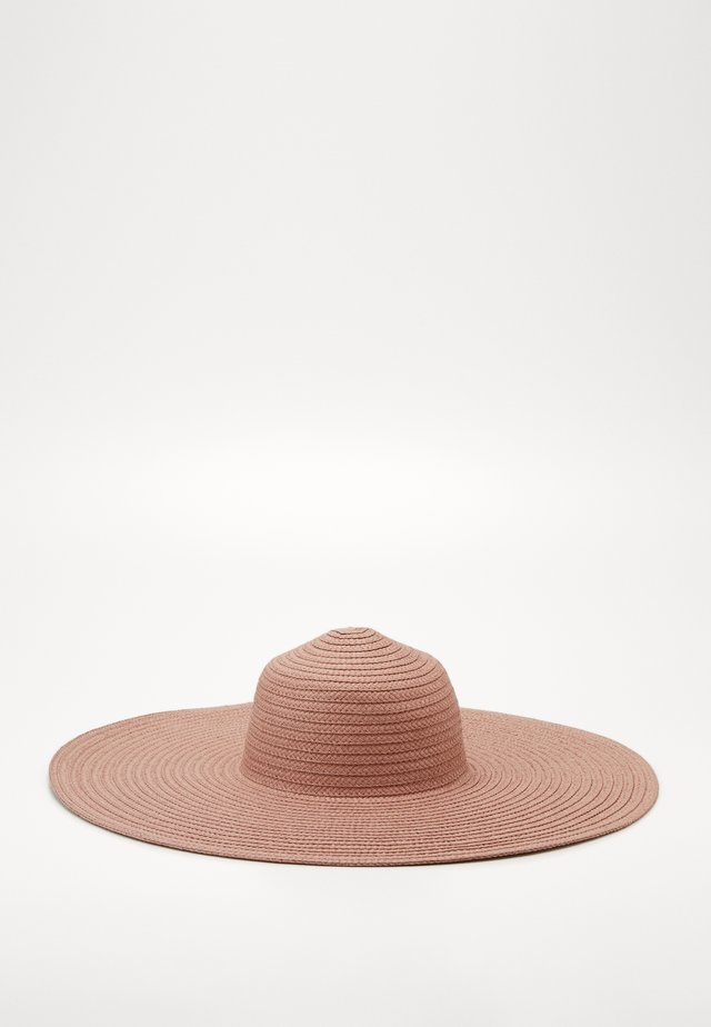 ONLMANILLA BIG STRAW HAT - Hut - lotus