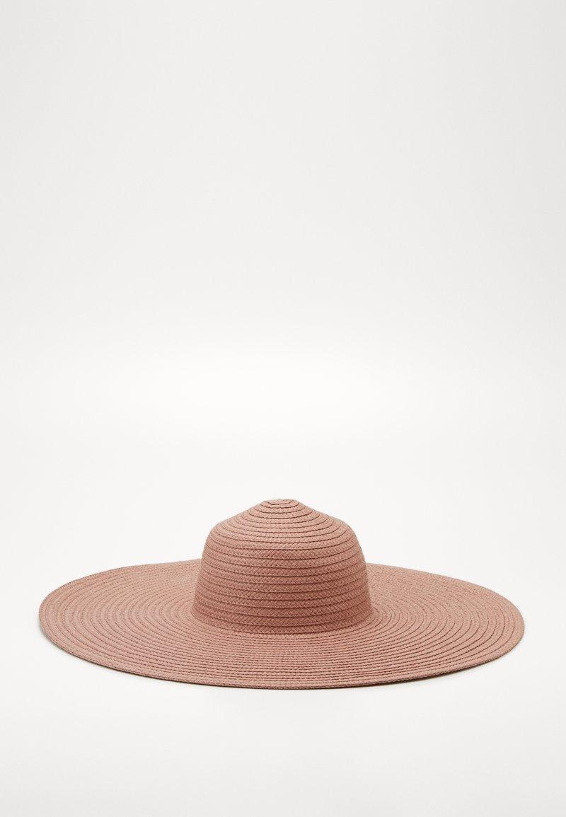 ONLY - ONLMANILLA BIG STRAW HAT - Hoed - lotus