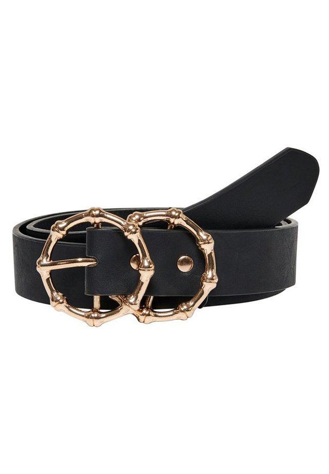 GÜRTEL KUNSTLEDER - Belt - black