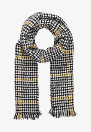 ONLSIA WEAVED SCARF  - Sjal - cadmium yellow/black/cloud