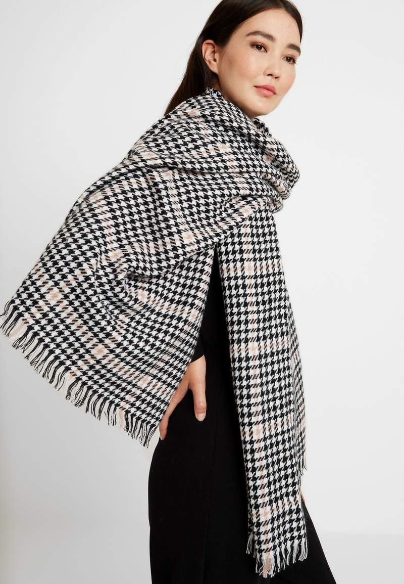 ONLY - ONLSIA WEAVED SCARF  - Sjaal - misty rose/black/cloud dance