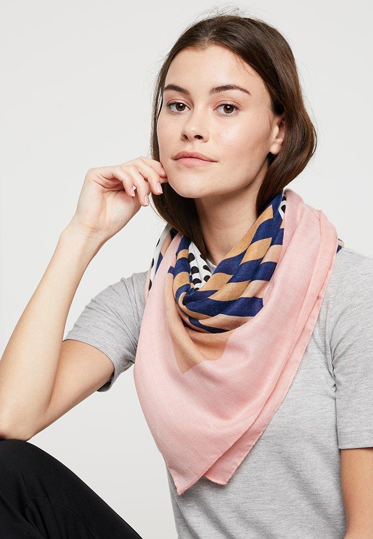 ONLY - ONLNICE PRINT SCARF - Tørklæde / Halstørklæder - rose quartz