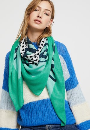 ONLNICE PRINT SCARF - Pañuelo - simply green