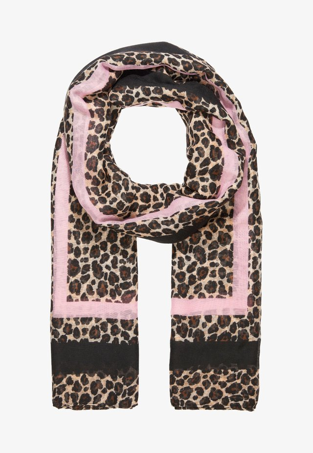ONLFILIPPA LEO SCARF - Sjaal - prism pink
