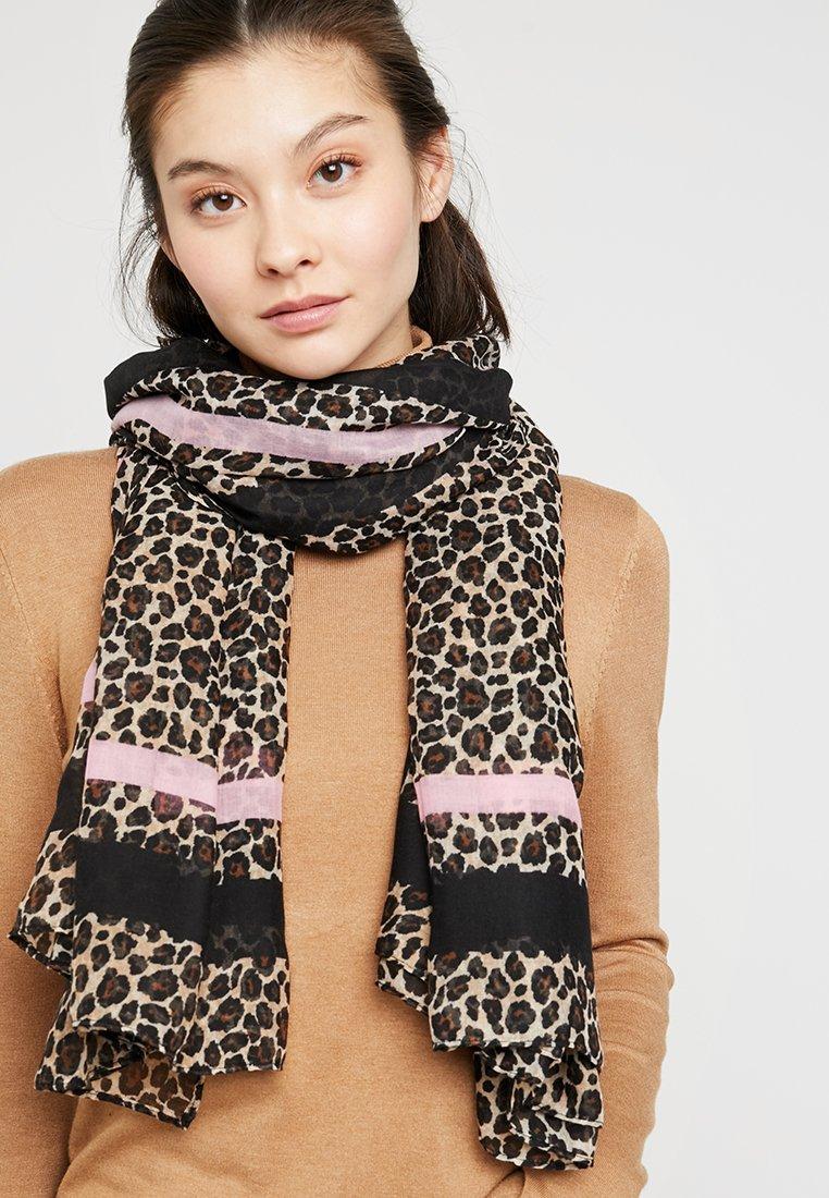ONLY - ONLFILIPPA LEO SCARF - Sjal / Tørklæder - prism pink