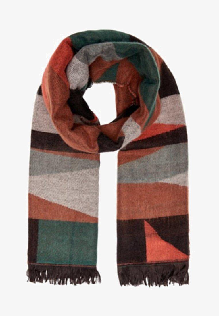 ONLY - GRAFIK - Sjaal - brown