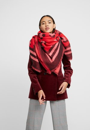 Scarf - chinese red