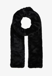ONLY - ONLFURRY SCARF - Sciarpa - black - 1