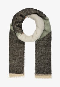 ONLY - ONLHUNTER GRAPHIC SCARF - Sjal - chinois green/multi colour - 1