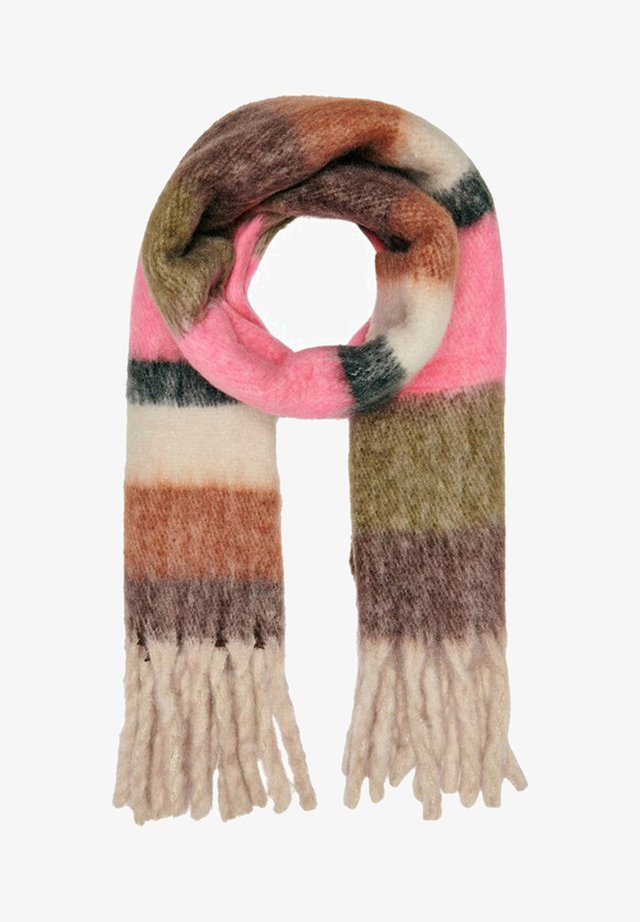 Scarf - knockout pink