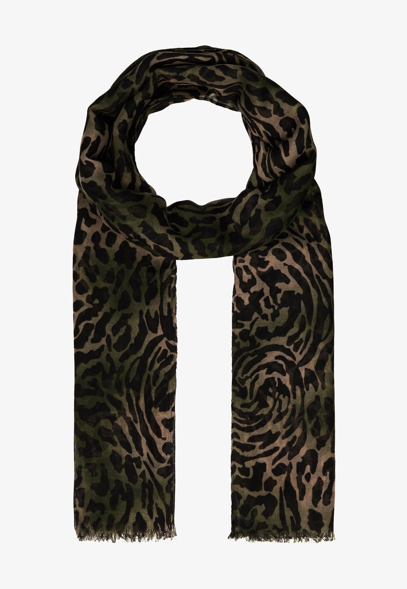 ONLY - ONLWILD LIFE SCARF - Skjerf - olive