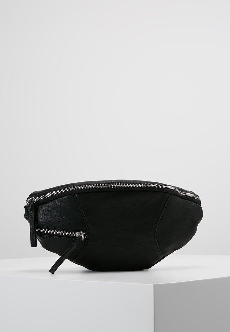 ONLY - ONLZIPPER BUMBAG - Gürteltasche - black