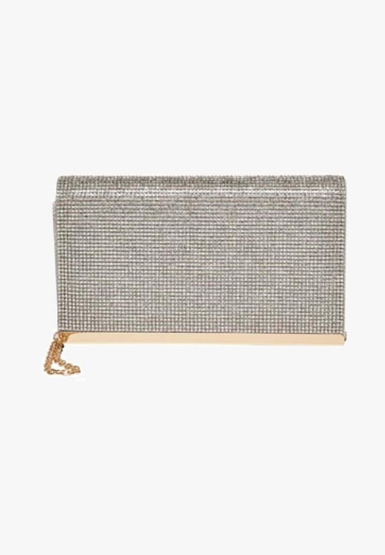 ONLY - GLITZER - Clutch - silver