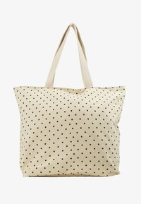 ONLY - ONLELIA SHOPPER BAG - Shopping bags - cloud dancer/black - 4