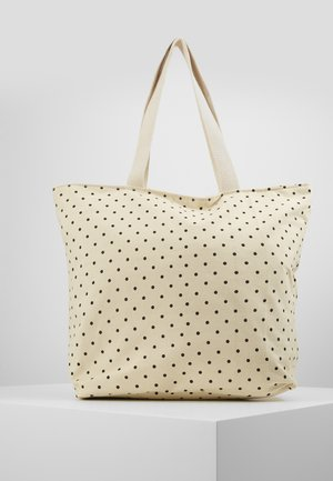 ONLELIA SHOPPER BAG - Tote bag - cloud dancer/black