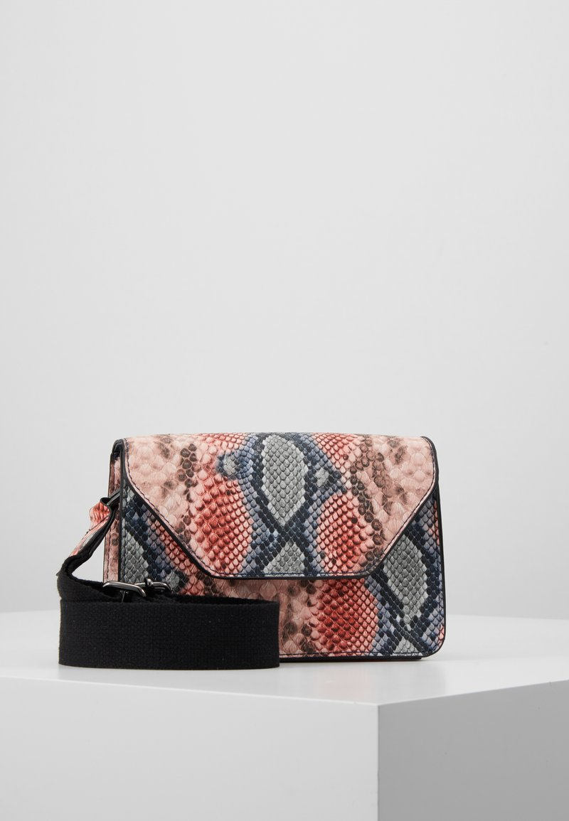 ONLY - ONLFIEKE CROSS BODY BAG - Across body bag - blush/blue