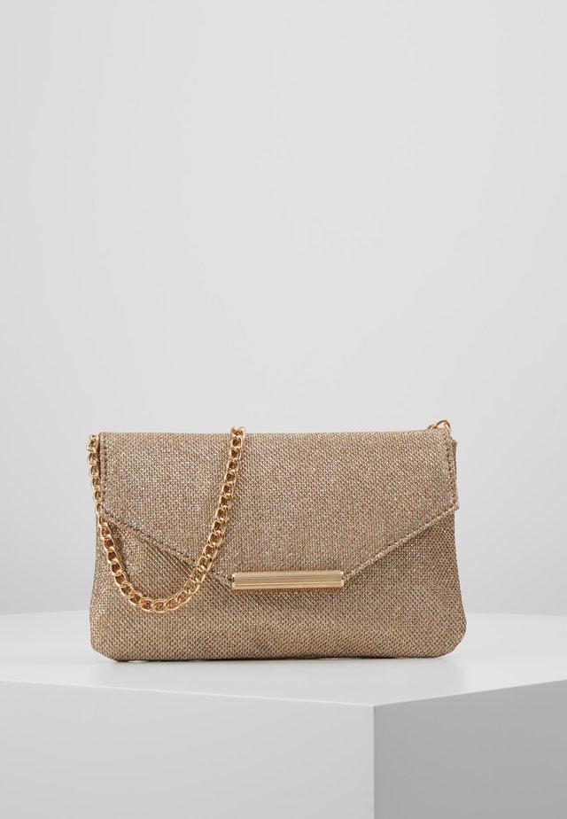 ONLSPARKLE - Across body bag - gold colour