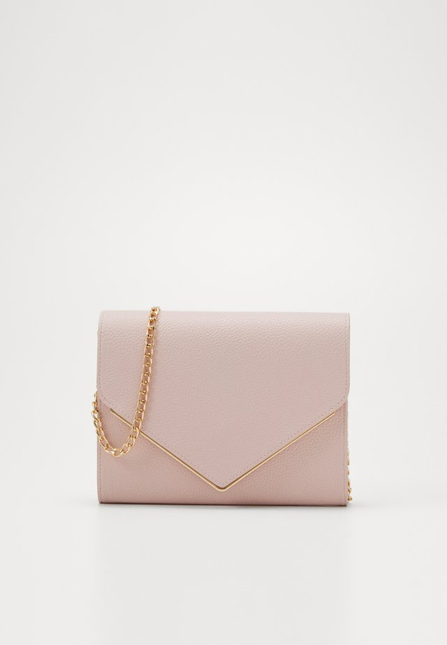 ONLHANNAH ZANNE ENVELOPE CROSSOVER - Across body bag - lotus/gold metal