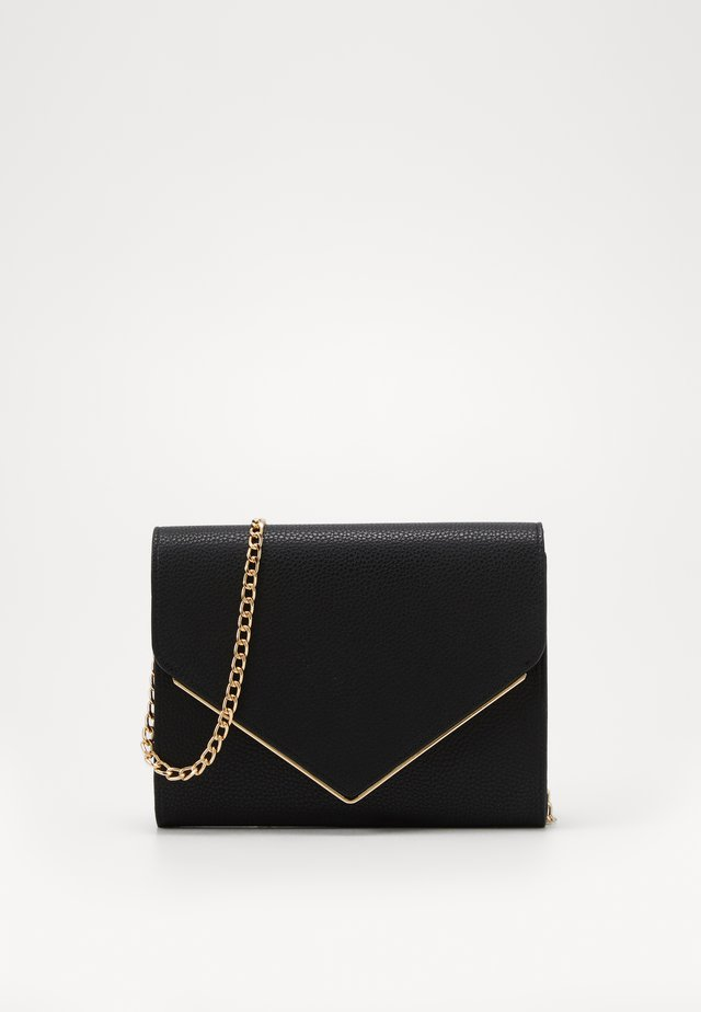 ONLHANNAH ZANNE ENVELOPE CROSSOVER - Across body bag - black/gold metal