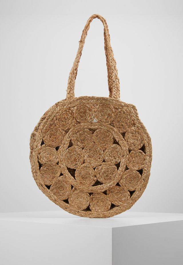 ONLJOHANNE FLOWER - Tote bag - natural