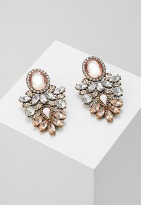 ONLY - ONLSAPPA STATEMENT EARRINGS - Øreringe - gold-coloured - 0