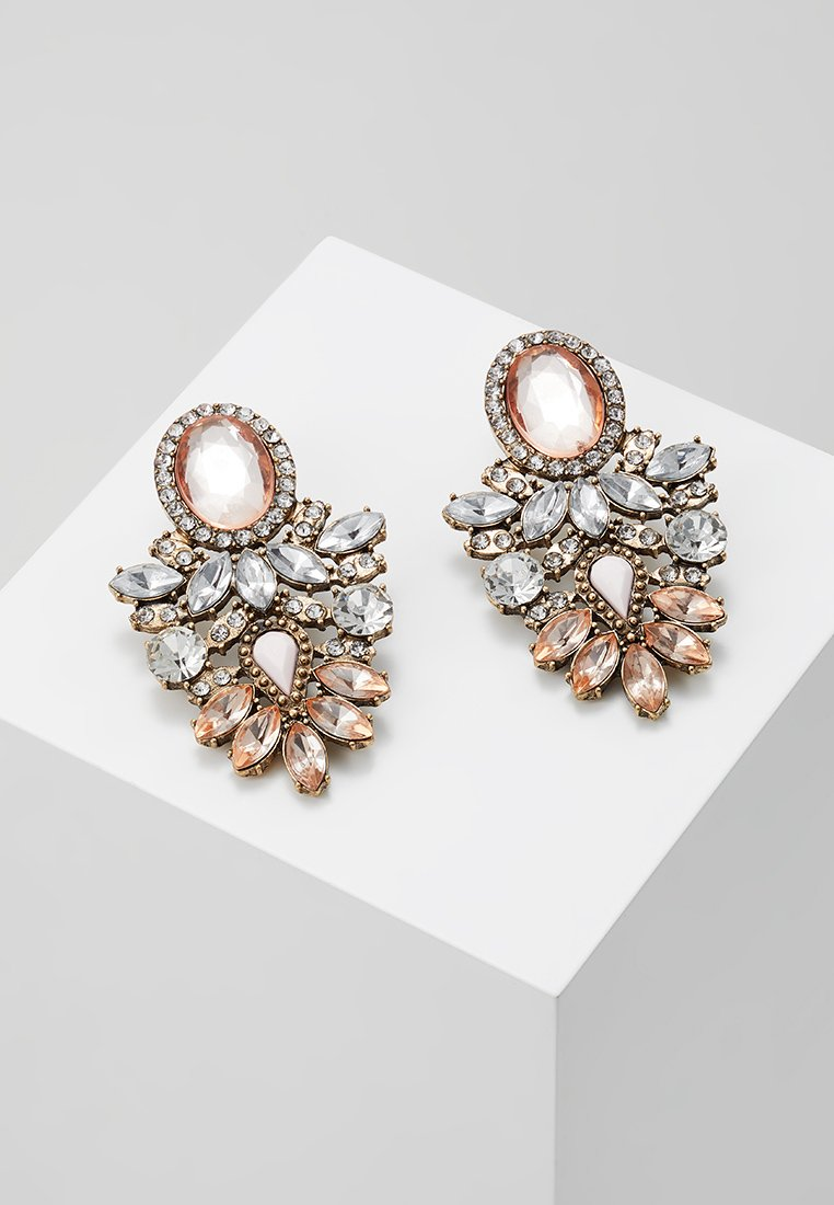 ONLY - ONLSAPPA STATEMENT EARRINGS - Øreringe - gold-coloured