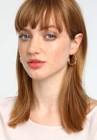 ONLY - ONLTILLA 3 PACK CREOL EARRINGS  - Ohrringe - gold-coloured - 1