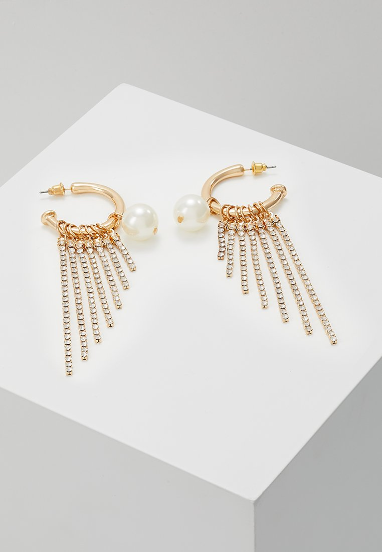 ONLY - ONLLUNA STATEMENT EARRINGS - Earrings - gold-coloured