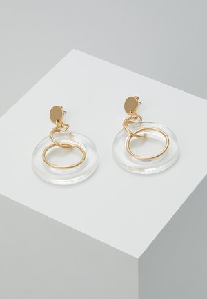 ONLCARNA ROUND STATEMENT EARRINGS - Øredobber - gold-coloured