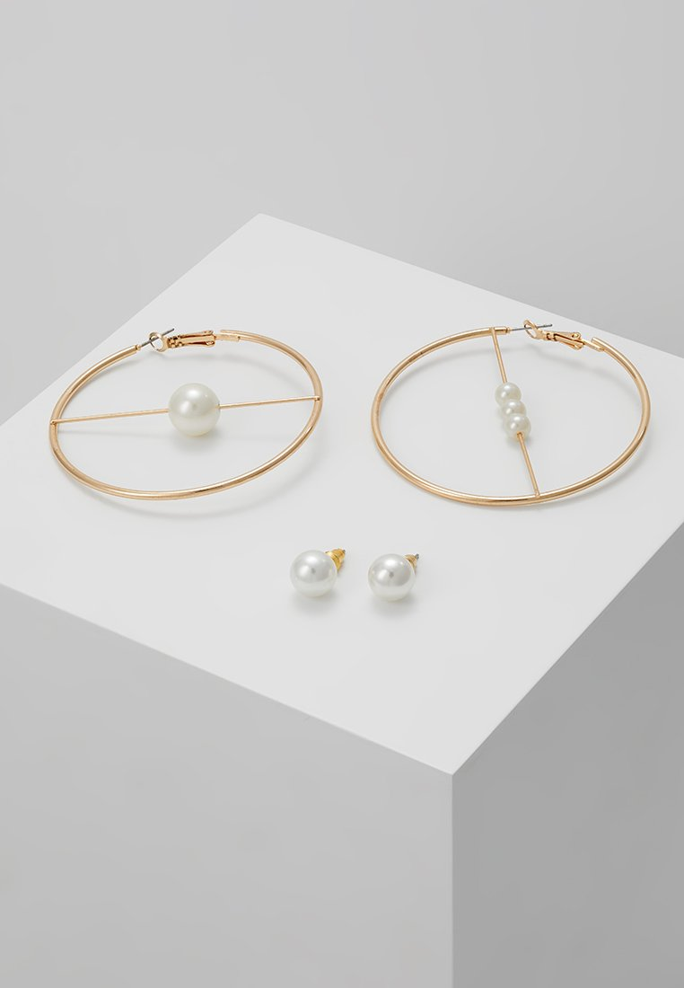ONLY - ONLKIRSA PEARL EARRINGS 2 PACK  - Örhänge - gold-coloured