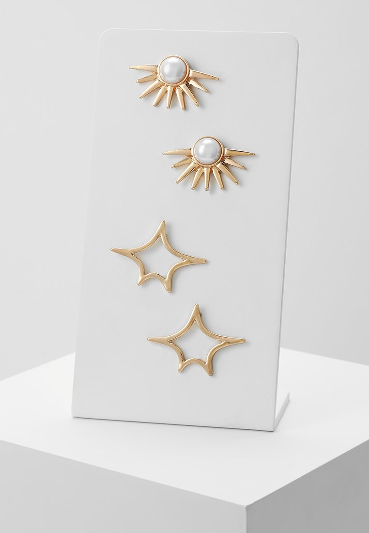 ONLY - ONLSUNNY EARRING 2 PACK - Orecchini - gold-coloured