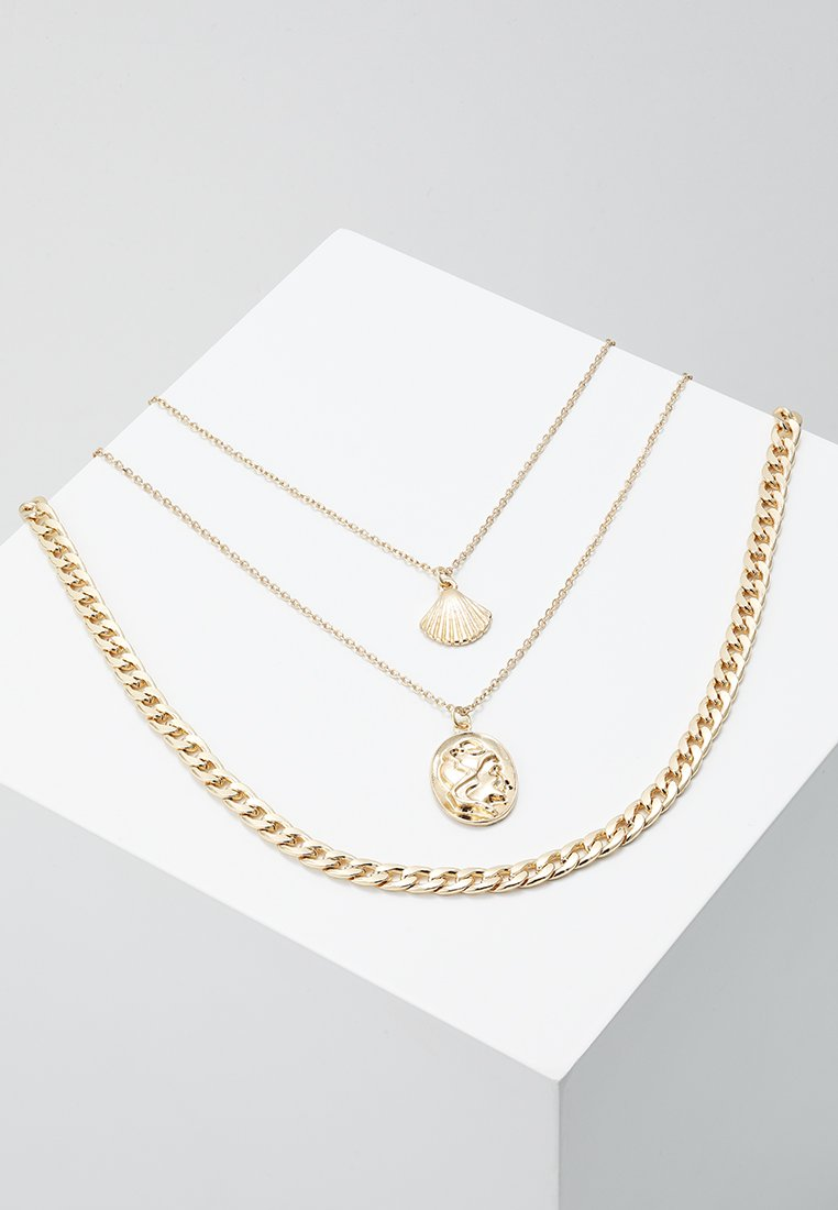 ONLY - ONLTHEA NECKLACE  3 PACK - Halsband - gold-coloured