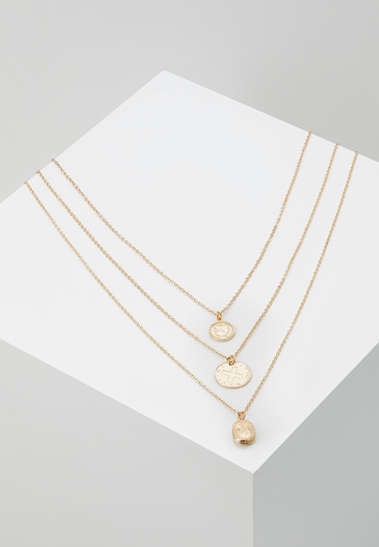 ONLY - ONLMONA NECKLACE 3 PACK  - Necklace - gold-coloured