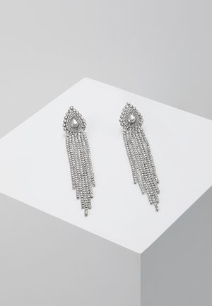 ONLELLA EARRINGS - Pendientes - silver-coloured