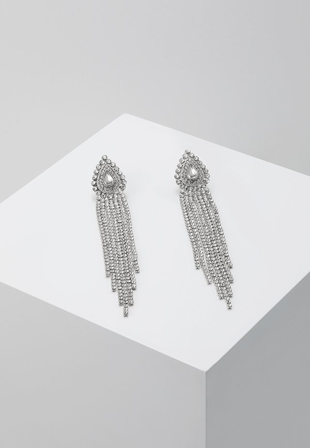 ONLELLA EARRINGS - Oorbellen - silver-coloured