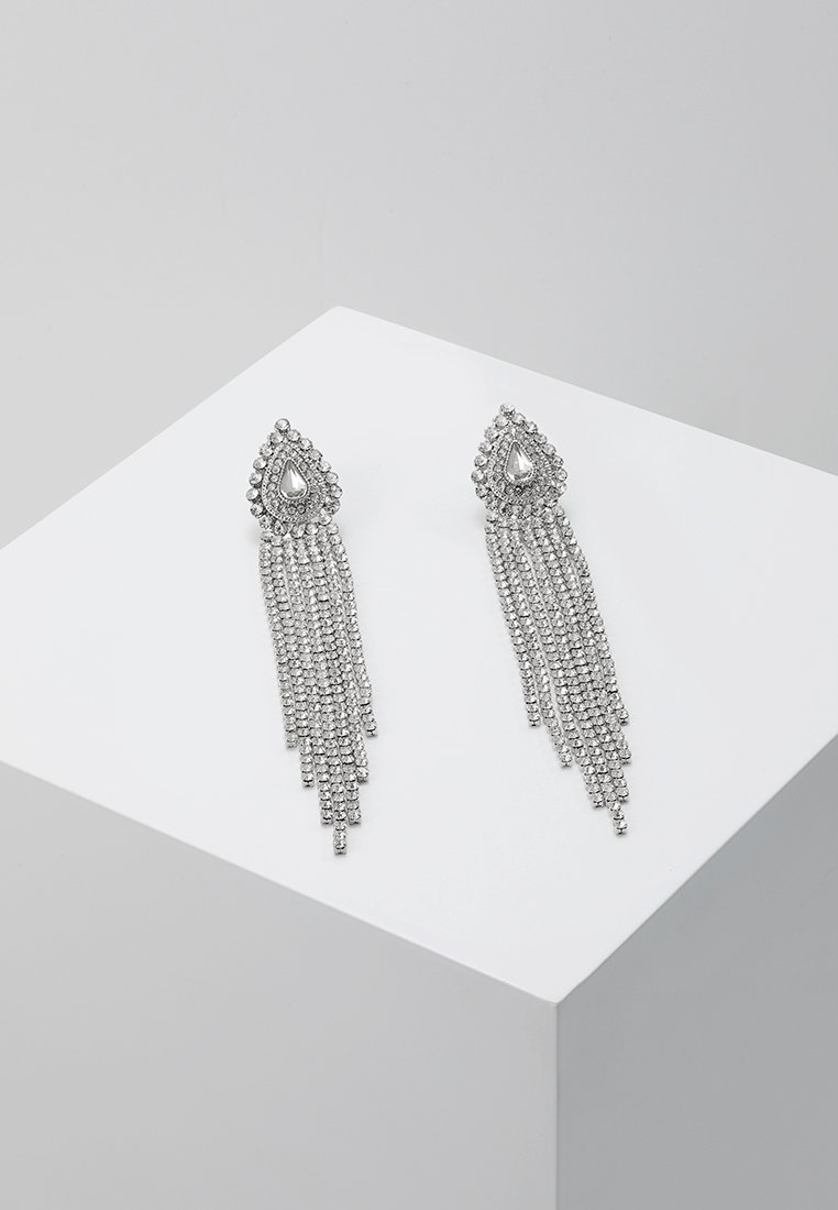 ONLY - ONLELLA EARRINGS - Náušnice - silver-coloured