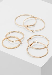ONLY - ONLBRENDA 3 PACK CREOL EARRINGS - Earrings - gold-coloured - 2